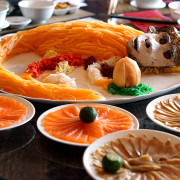 Chinese New Year 2016 - Szechuan Court & Kitchen Fairmont Singapore - Lobster, Salmon, Abalone Yusheng