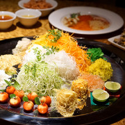 Chinese New Year 2016 - Silk Road Restaurant Amara Singapore Hotel - Eight Treasures Yusheng Full View