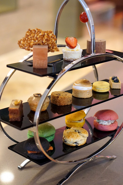 Pan Pacific Singapore Atrium's New Afternoon Tea Menus - English Afternoon Tea Set
