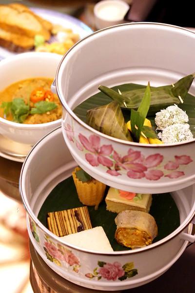 Pan Pacific Singapore Atrium's New Afternoon Tea Menus - Peranakan Afternoon Tea Set