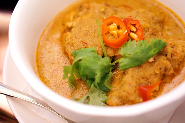Pan Pacific Singapore Atrium's New Afternoon Tea Menus - Traditional Nyonya Chicken Curry