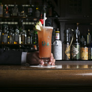 Singapore Sling - Long Bar Raffles Singapore