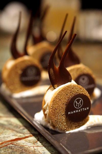 Manhattan Bar Regent Singapore, A Four Seasons Hotel - Harlem District Menu - Banana Cream Cookies