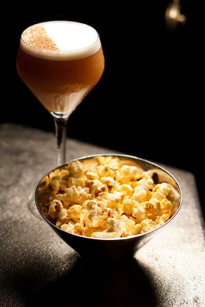 Manhattan Bar Regent Singapore, A Four Seasons Hotel - Harlem District Menu - Lenox and Popcorn