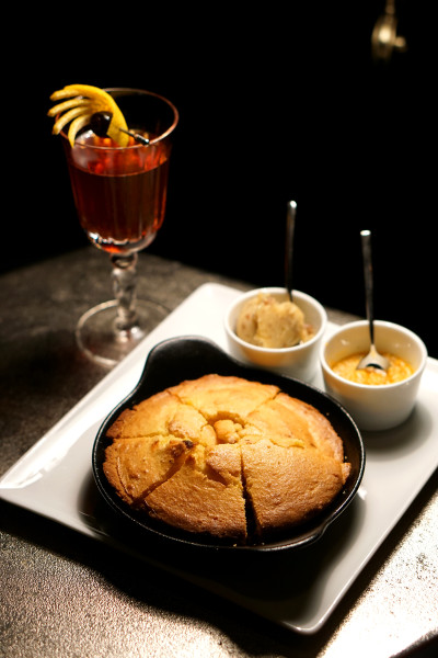 Manhattan Bar Regent Singapore, A Four Seasons Hotel - Harlem District Menu - Red Rooster and Southern Cornbread