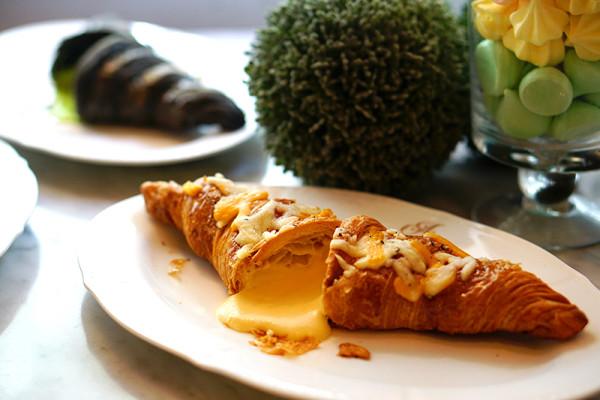 Antoinette - Finale of La Croissanterie Series - Quatre Fromages (4 Cheeses) Croissant