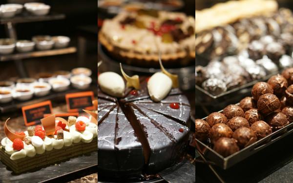 Basilico Regent Singapore - Desserts Collage