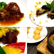 Master Chef Steven Ng of Shang Palace, Shangri-La Hotel Singapore - Exquisite Abalone Cuisine - Collage