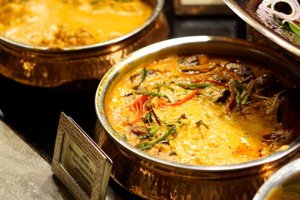Chef Santosh Kumar Flavours of India Promotion - Melt Cafe Mandarin Oriental Singapore - Baingen Mirchi Ka Salan