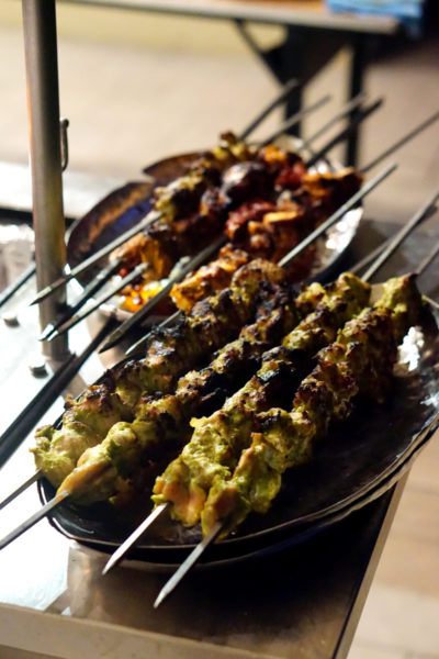 Chef Santosh Kumar Flavours of India Promotion - Melt Cafe Mandarin Oriental Singapore - Kebabs