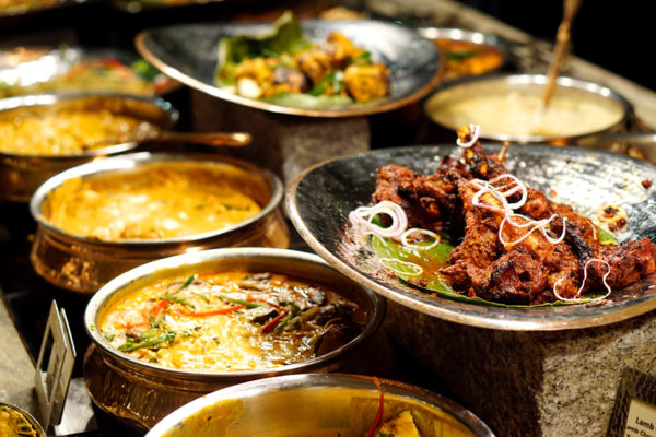 Chef Santosh Kumar Flavours of India Promotion - Melt Cafe Mandarin Oriental Singapore - Spread