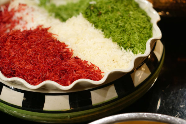 Chef Santosh Kumar Flavours of India Promotion - Melt Cafe Mandarin Oriental Singapore - Tiranga Pulav