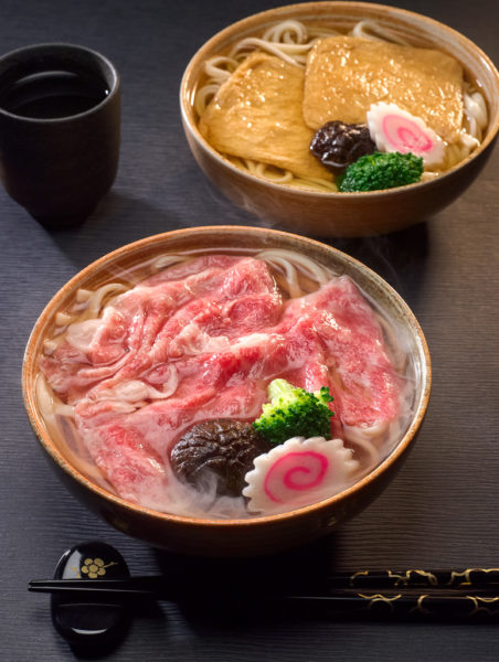 Gastronomic Journey of Shikoku at Keyaki Pan Pacific Singapore - Awa Beef Udon and Kitsune Udon