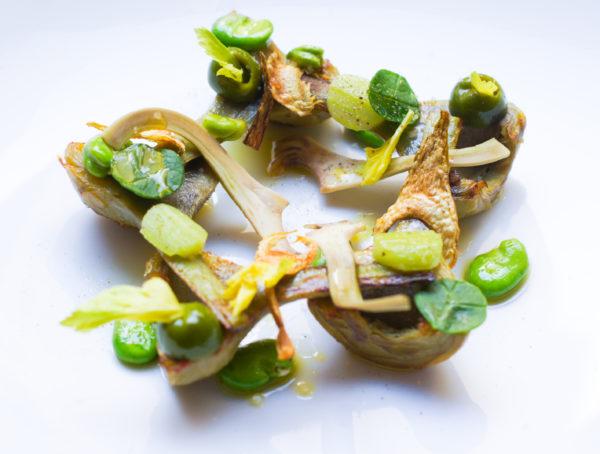 Il Carpaccio - Artichoke Salad