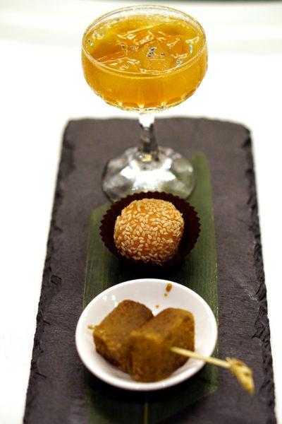 Shisen Hanten by Chen Kentaro, Mandarin Orchard Singapore - Trio of Desserts