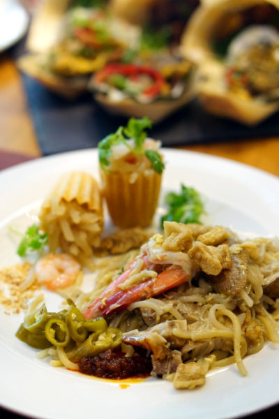 Hawkerlicious Buffet at Flavours at Zhongshan Park - Fried Seafood Hokkien Mee