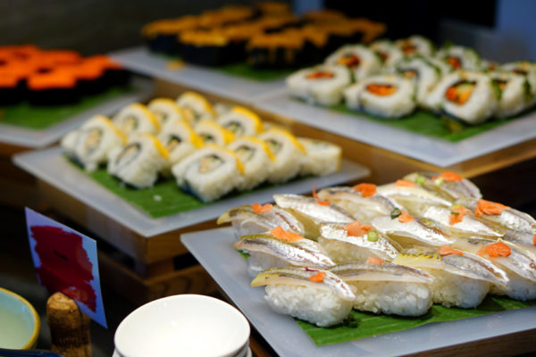 Hawkerlicious Buffet at Flavours at Zhongshan Park - Sushi