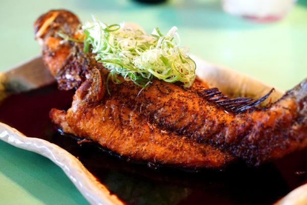 Seafood Galore at Kopi Tiam, Swissotel The Stamford - Deep-fried Soon Hock