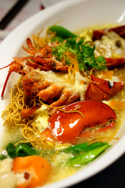 Pince & Pints Restaurant and Bar - New Limited Offerings - Lobster Noodles 2