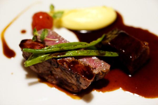 UsQuBa Scottish Restaurant & Bar at One Fullerton - Duet of Aberdeen Angus Beef