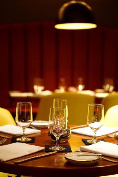 UsQuBa Scottish Restaurant & Bar at One Fullerton - Interior
