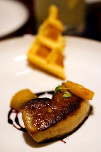 UsQuBa Scottish Restaurant & Bar at One Fullerton - Seared Foie Gras
