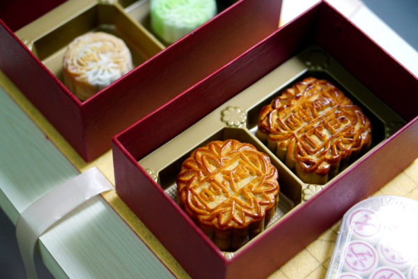 Mid-Autumn 2016 at Regent Singapore - Mooncakes