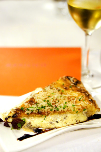 New Basilissimo Menu at Basilico, Regent Singapore - Of the Mediterranean and Alps - Three Cheese Focaccia