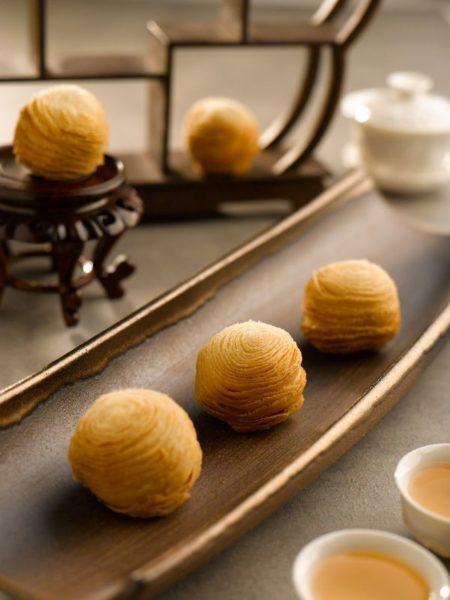 Mid-Autumn 2016 at Golden Peony Conrad Centennial Singapore - Sweet Potato Filo Pastry Mooncake