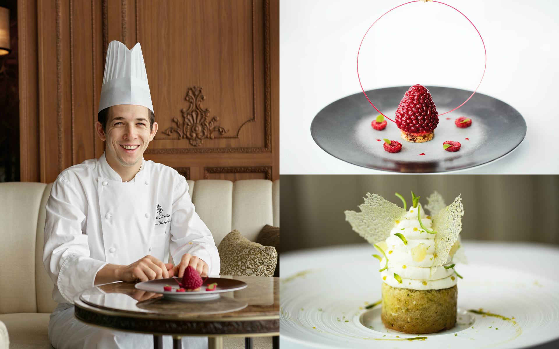 Sweet Indulgence With Michelin Two Star Caprice Pastry