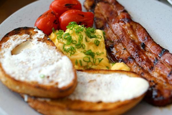 Fat Lulu's - Weekend Brunch Menu - Bacon & Eggs