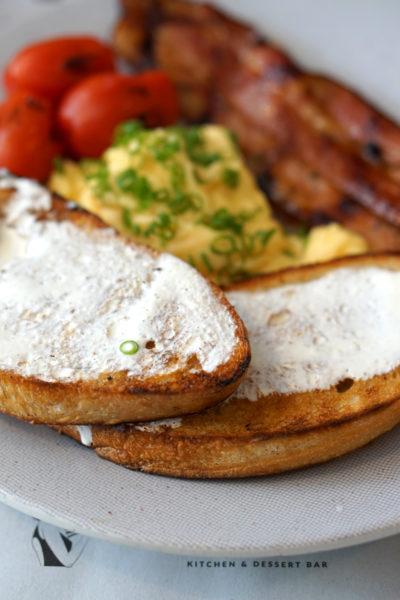 Fat Lulu's - Weekend Brunch Menu - Bacon & Eggs 2
