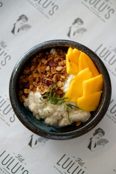 Fat Lulu's - Weekend Brunch Menu - Vanilla-&-Pandan-Sticky-Rice