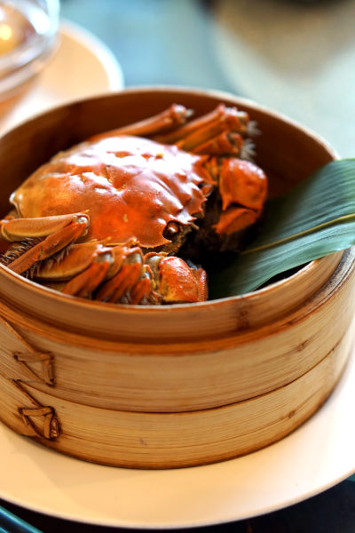 hairy-crabs-2016-at-szechuan-court-fairmont-singapore-steamed-whole-hairy-crab-with-shiso-leaf-2