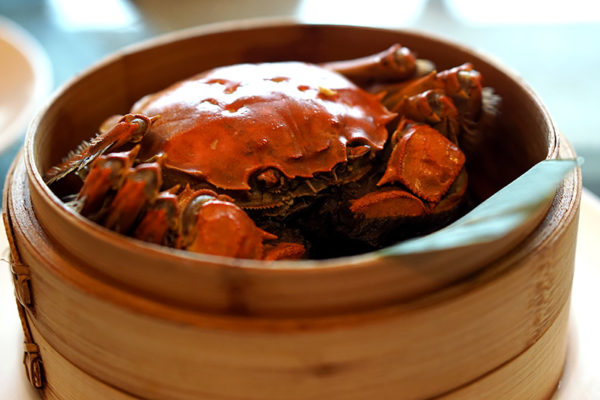 hairy-crabs-2016-at-szechuan-court-fairmont-singapore-steamed-whole-hairy-crab-with-shiso-leaf