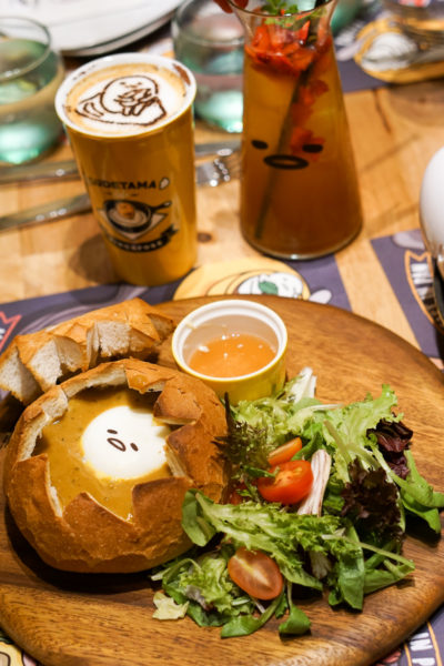 Gudetama Cafe Singapore - Lazy Egg Arrives in Singapore - Gudetama Lobster Onsen