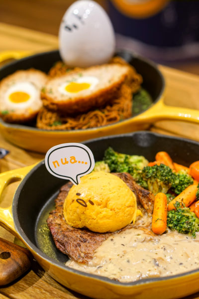 Gudetama Cafe Singapore - Lazy Egg Arrives in Singapore - Rib-I Don't Care
