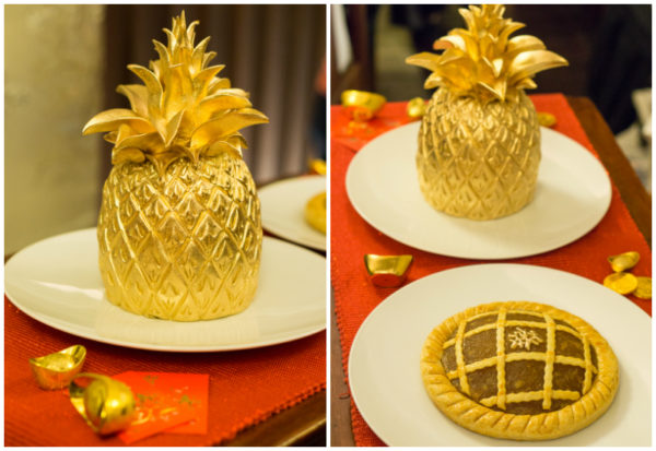 Chinese New Year 2017 at Goodwood Park Hotel - Auspicious Golden Pineapple and The Huat Tart