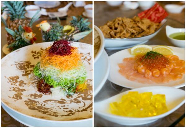 Chinese New Year 2017 at Jade, The Fullerton Hotel Singapore - Eight Happiness Gold Rush Yusheng 2