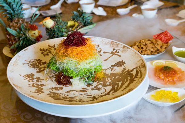 Chinese New Year 2017 at Jade, The Fullerton Hotel Singapore - Eight Happiness Gold Rush Yusheng