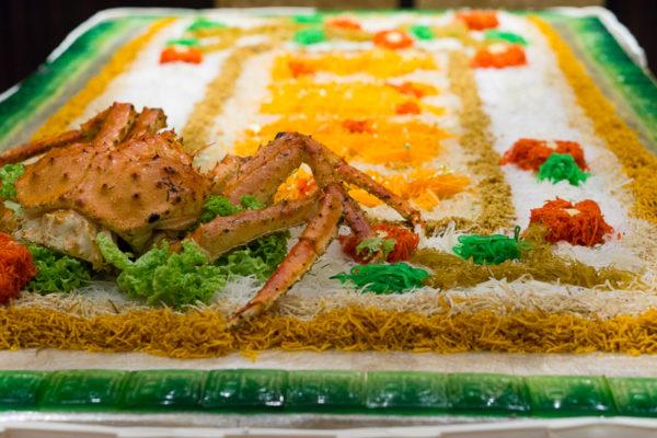 Chinese New Year 2017 at Li Bai, Sheraton Towers Singapore - Alaskan Crab Yusheng