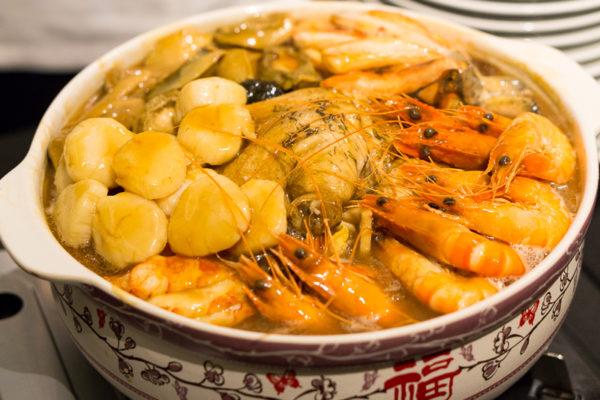Chinese New Year 2017 at Man Fu Yuan, InterContinental Singapore - Man Fu Yuan Supreme Treasures Pot (Serves 5)