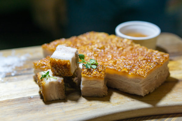 Chinese New Year 2017 at The Carvery, Park Hotel Alexandra - Crispy Pork Belly with Apricot Ginger Sauce