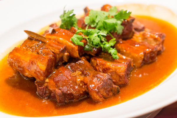 Chinese New Year 2017 at Wan Hao Singapore Marriott Tang Plaza Hotel - Stewed Spare Rib with Hawthorn & Preserved Plum