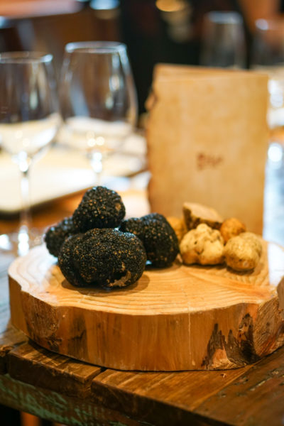 Truffle Indulgence at Prego, Fairmont Singapore - Winter Black and White Truffles 2