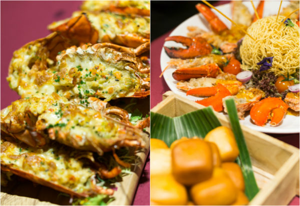 Lobster Bonanza at Melt Cafe, Mandarin Oriental Singapore - Lobster Thermidor and Chilli Lobster