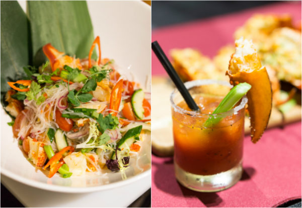 Lobster Bonanza at Melt Cafe, Mandarin Oriental Singapore - Thai Lobster Salad with Glass Noodle and Lobster Bloody Mary