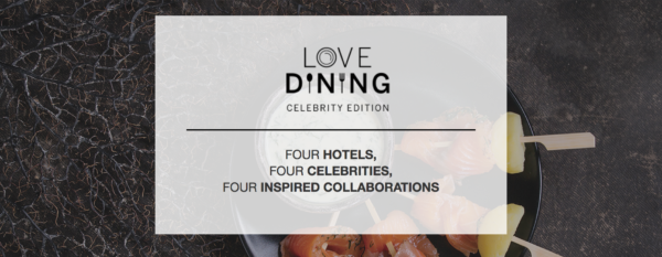 American Express Love Dining - Celebrity Edition