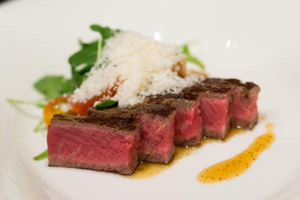 American Express Love Dining Celebrity Edition - Lennard Yeong with LaBrezza Chef de Cuisine Armando Aristarco - Tagliata Di Manzo, Soia & Sesame