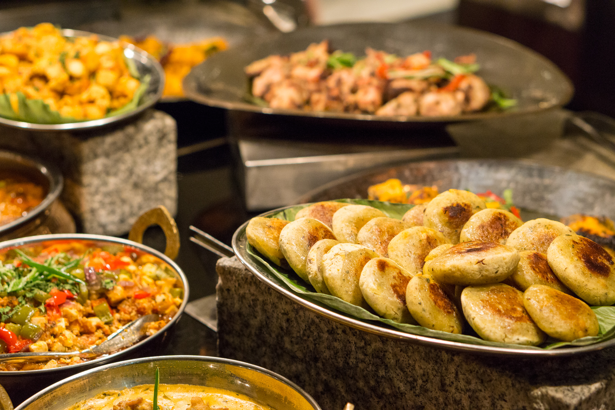 Indian Food Festival at Melt Cafe Mandarin Oriental Singapore - Indian Counter Spread 2